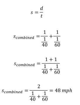 harmonic mean calcs 2